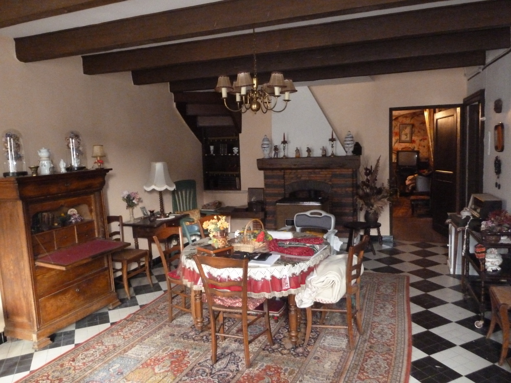 Ancienne maison de bourg 37 000 agence immobili re de la mothe jussey - Classe energetique maison ...
